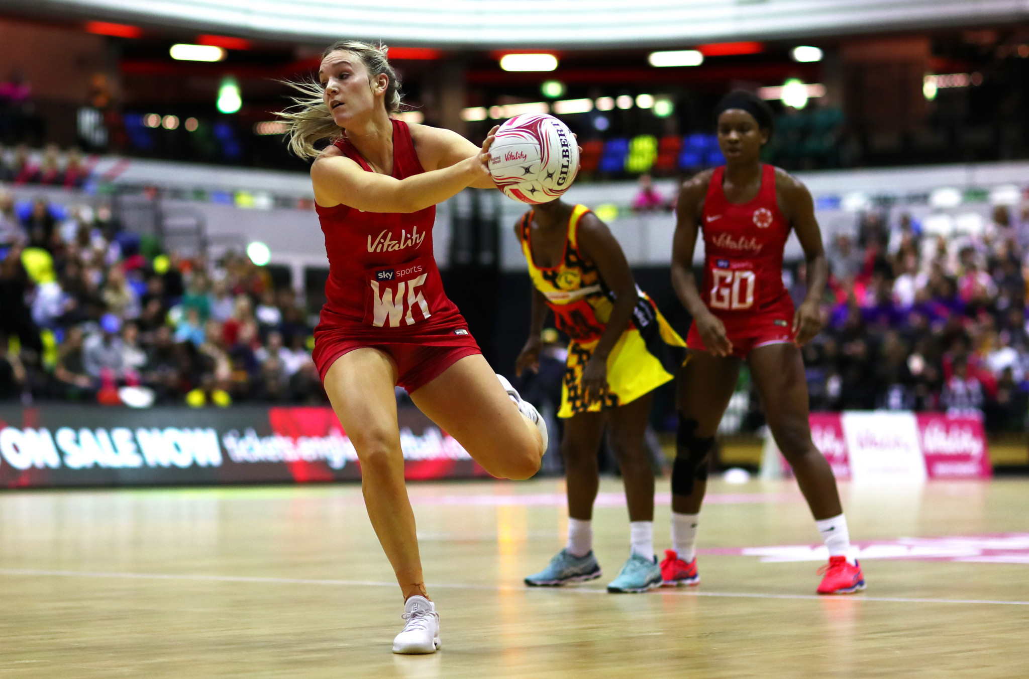 The appointments are seen as key to improve netball officiating ©Getty Images