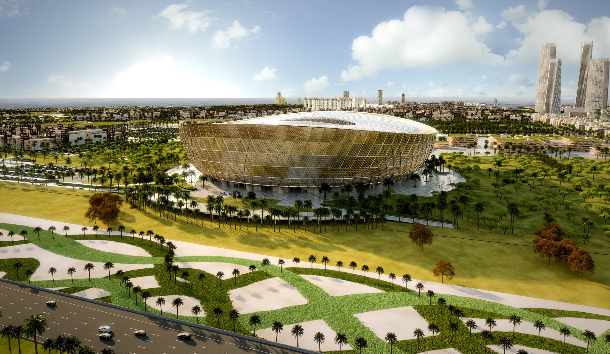 Qatar 2022 reveal design of Lusail Stadium for World Cup
