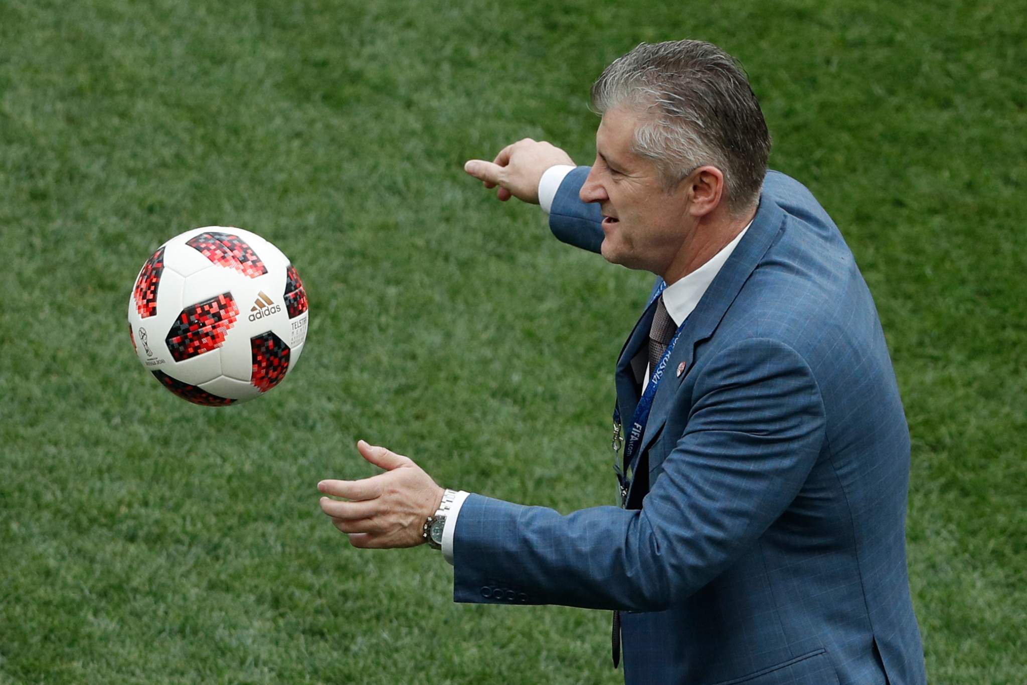 Croatian Football Federation President Davor Suker reportedly expressed support to holding friendly matches with Iran ©Getty Images
