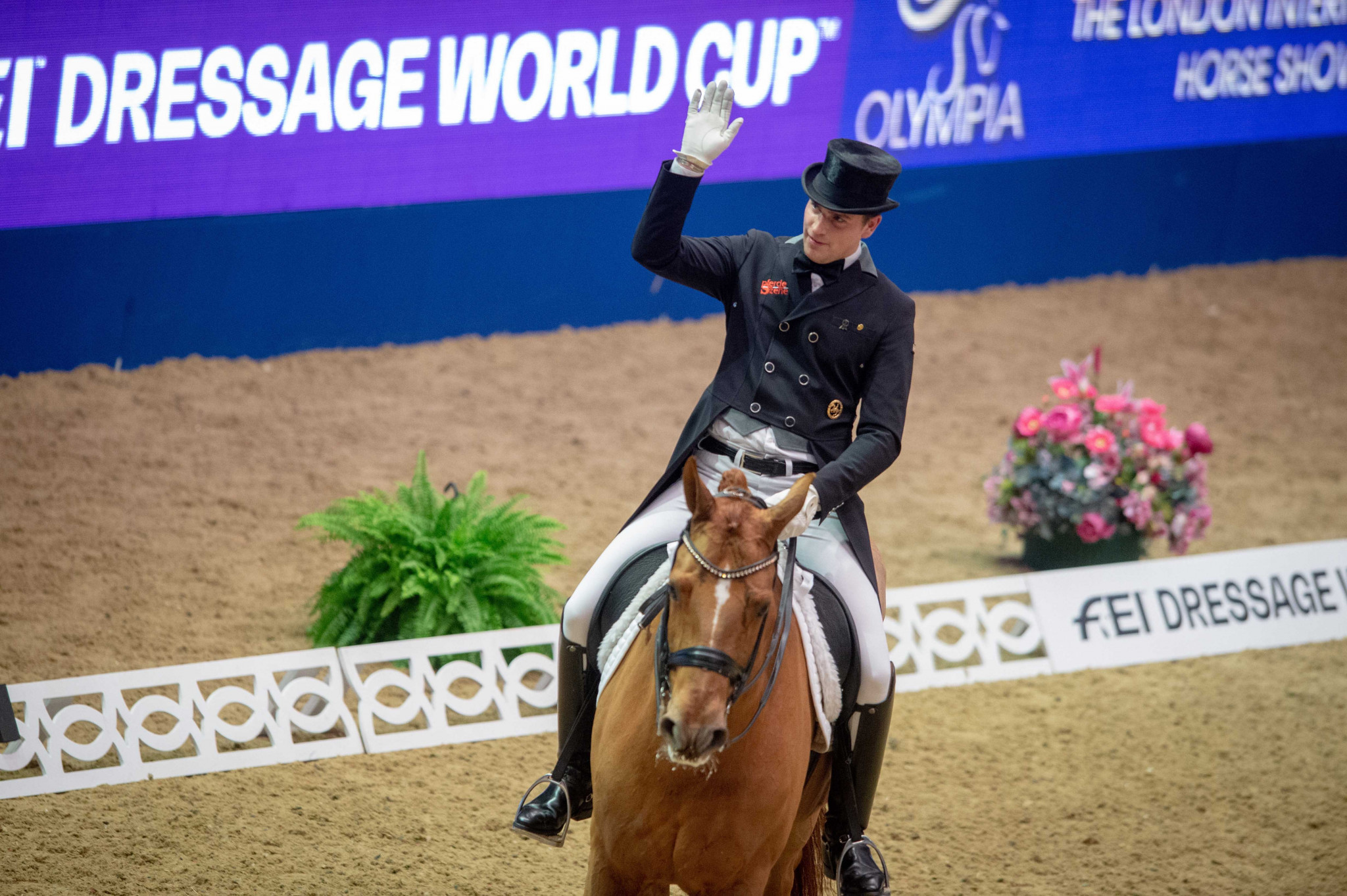 Wandres pips home hero Dujardin at Dressage World Cup in London
