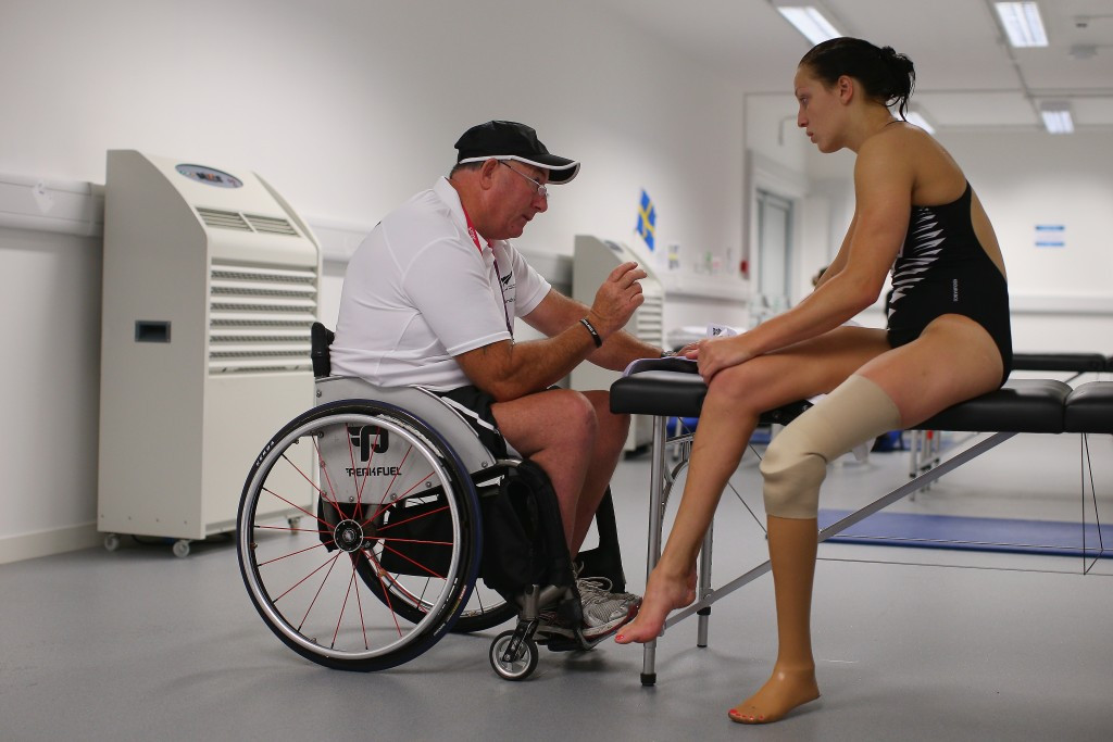 Swimming supremo Crichton awarded Paralympics New Zealand Order of Merit