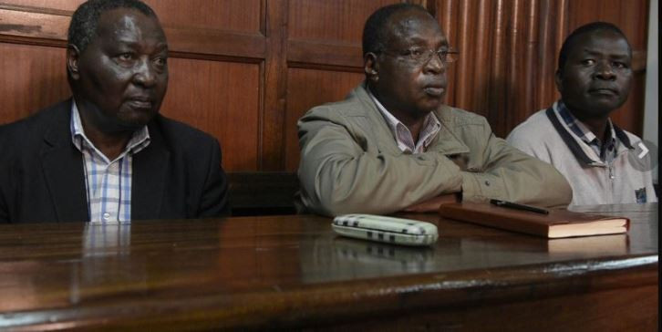 Several NOCK officials including former secretary general Francis Paul Kanyili, left, have been accused of corruption ©Getty Images