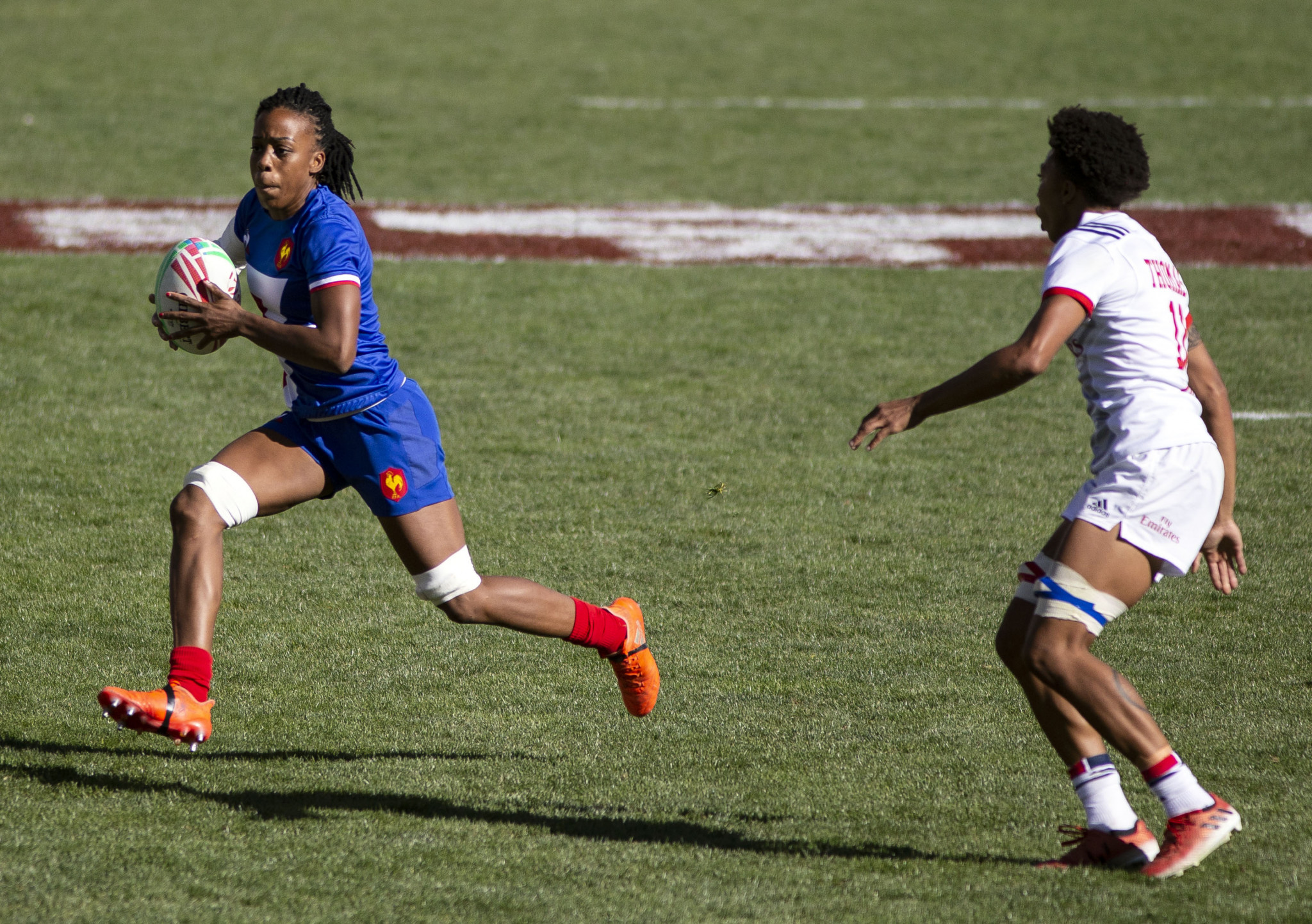 France finished as the silver medallists in the Rugby World Cup Sevens women's competition ©Getty Images