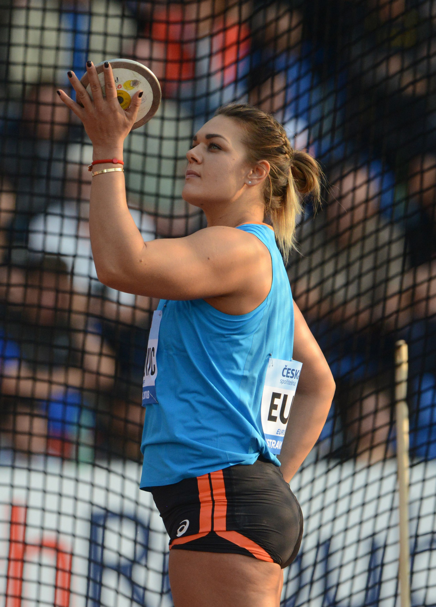 Croatia's world and Olympic discus champion Sandra Perkovic has strong views on what is and is not correct about her sport ©Getty Images