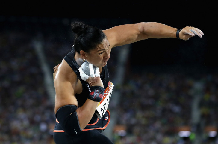 New Zealand's world and Olympic shot put champion Valerie Adams has also spoken out against the failure of adminstrators to liaise with athletes over fundamental competition changes ©Getty Images