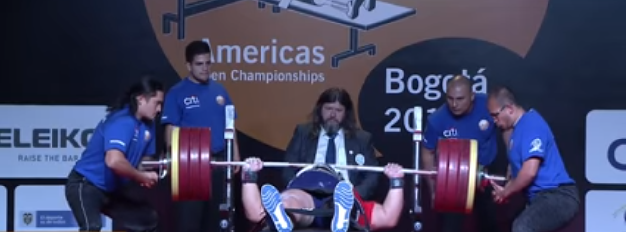 "Colombia's Castañeda Velasquez named ""Best Americas Powerlifter"" after record-breaking lift"