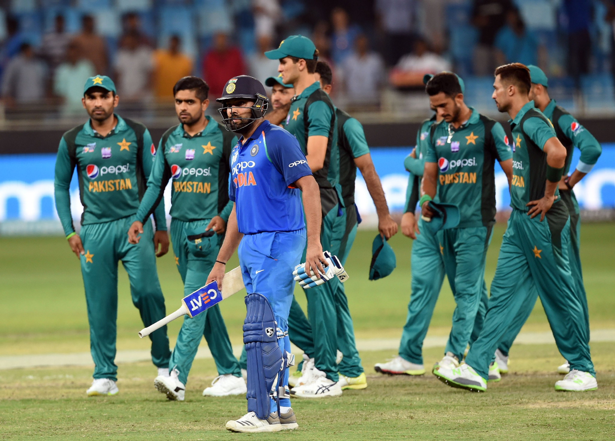 The dispute initially arose after India refused to honour an agreement to play two series in Pakistan ©Getty Images