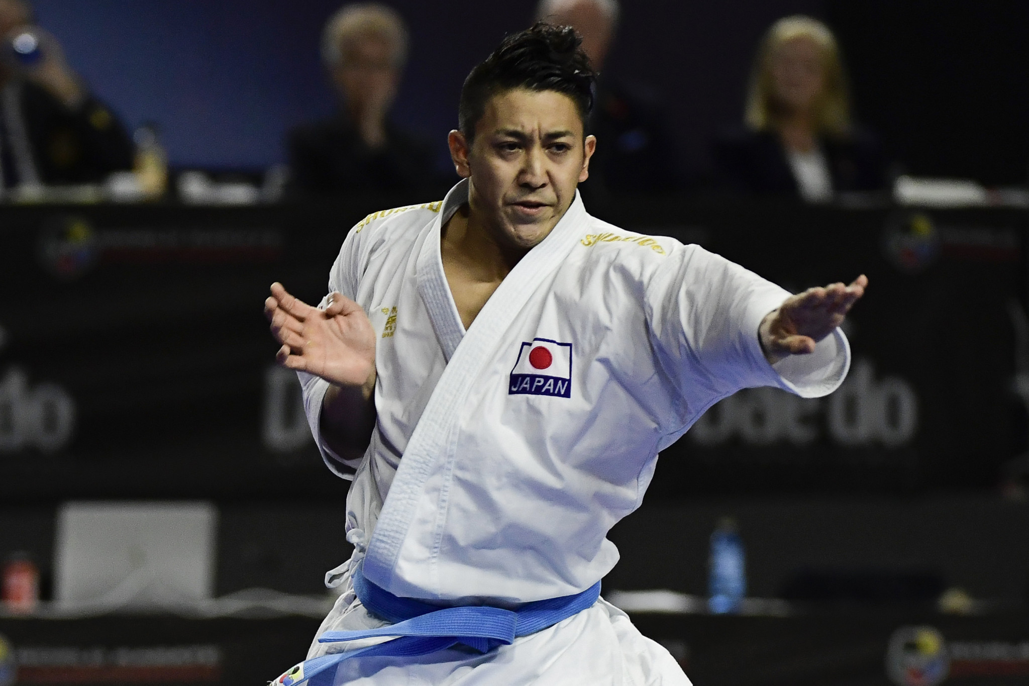 Japan's Ryo Kiyuna has qualified for the 2019 ANOC World Beach Games in San Diego after winning November's Karate World Championships ©Getty Images
