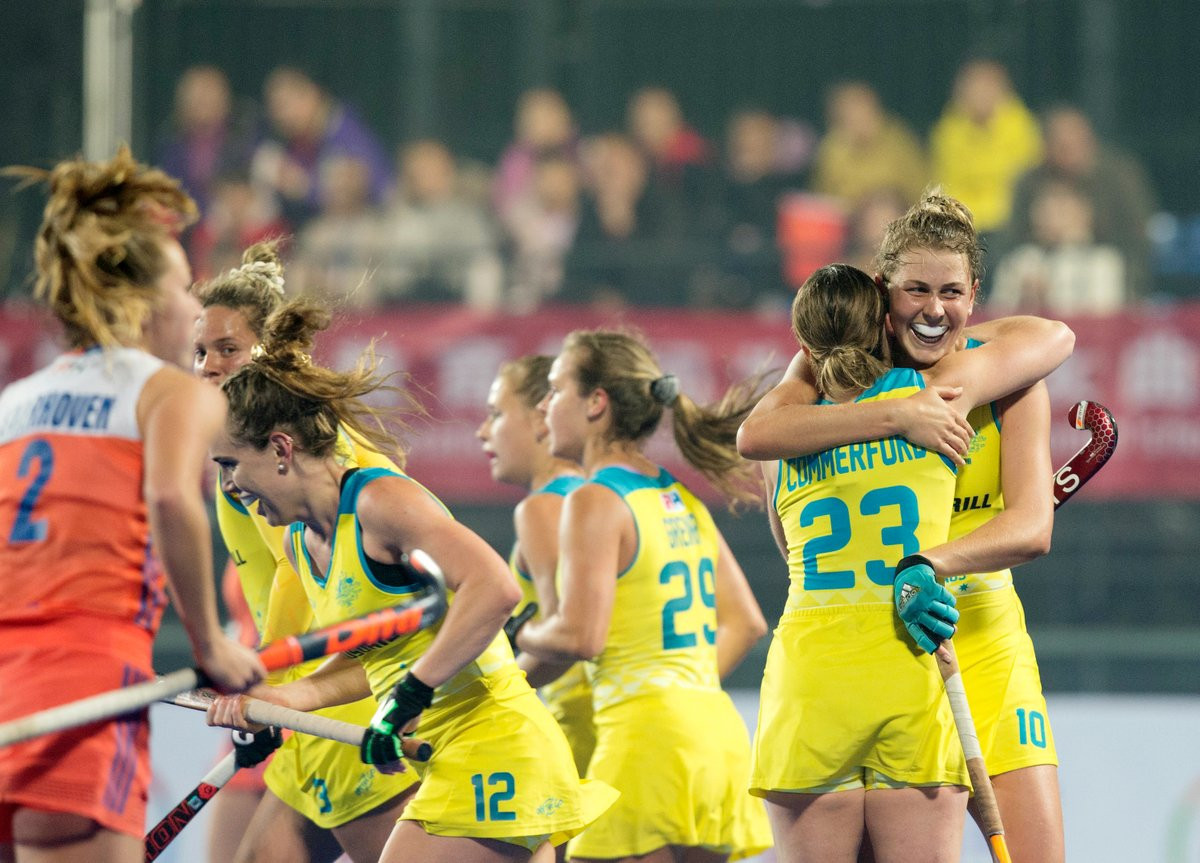 The deal includes the FIH Pro League from 2019 to 2022 ©Hockeyroos/Twitter