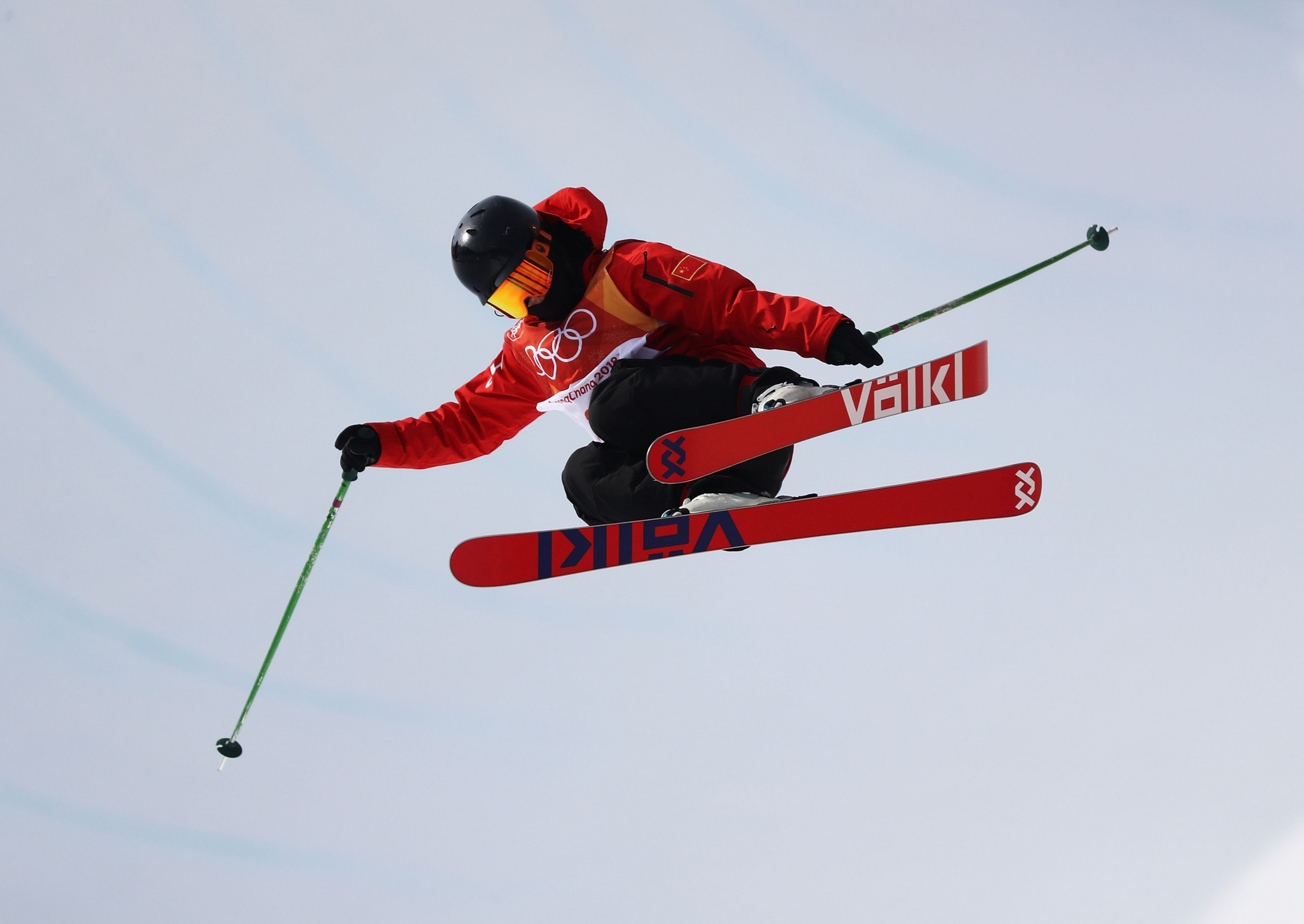 Zhang and d'Artois wrap up 2018 with wins at FIS Freestyle Skiing Halfpipe World Cup