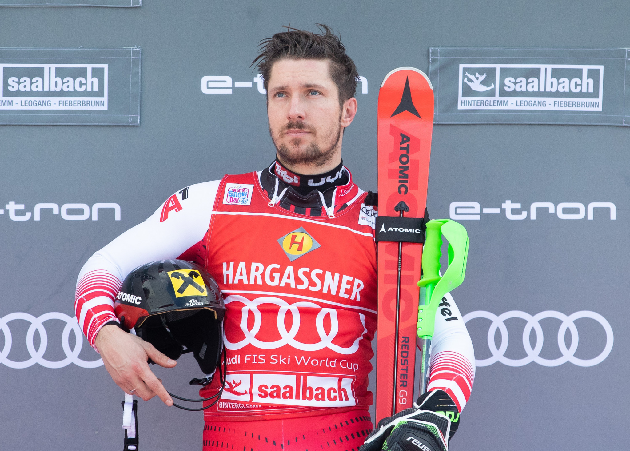 Marcel Hirscher is now the greatest Austrian skier of all time after winning his 63rd World Cup victory at the FIS Alpine Skiing World Cup in Saalbach-Hinterglemm ©Getty Images