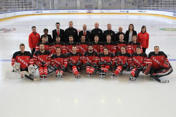Canada reveal 20-man squad for upcoming 2015 to 2016 ice sledge hockey season