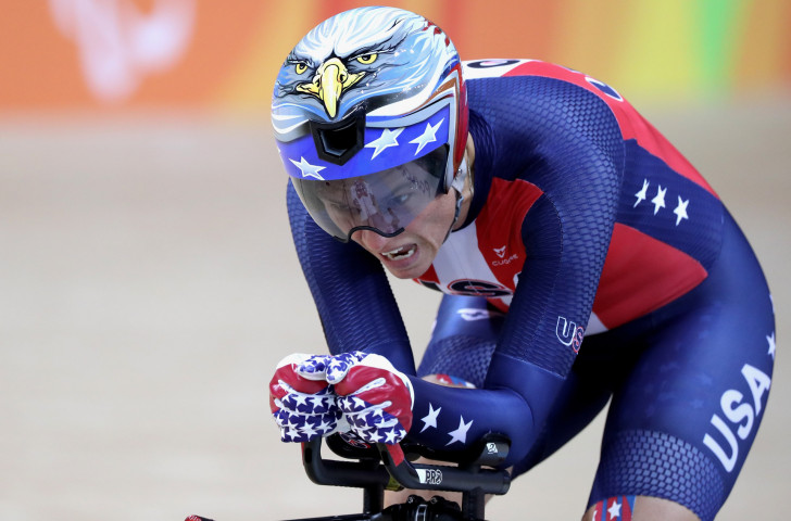 Double Paralympic champion Shawn Morelli is among 24 athletes named for next year's US Para-cycling team ©Getty Images