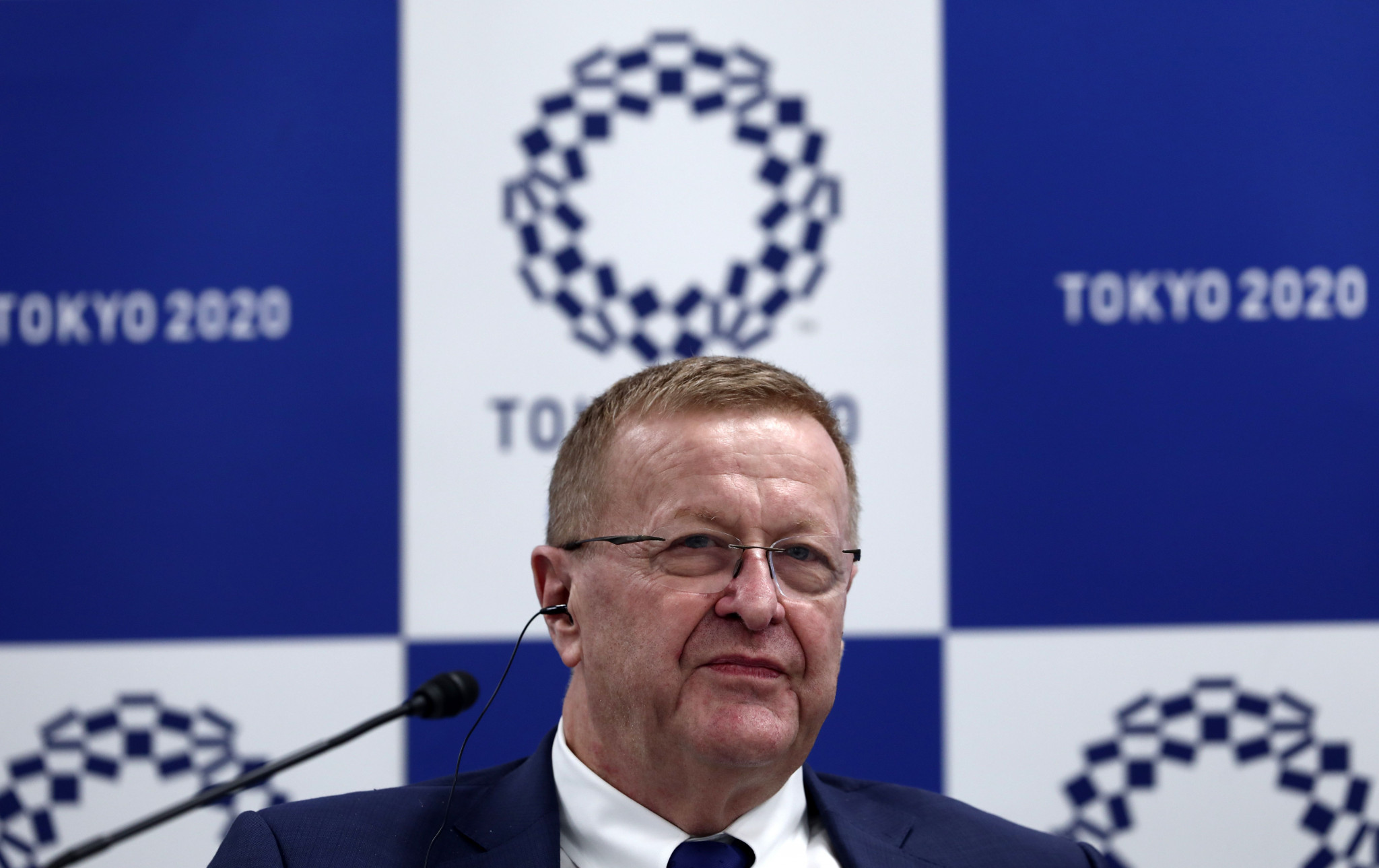 IOC Coordination Commission chair John Coates says companies are already benefiting from the Games ©Getty Images