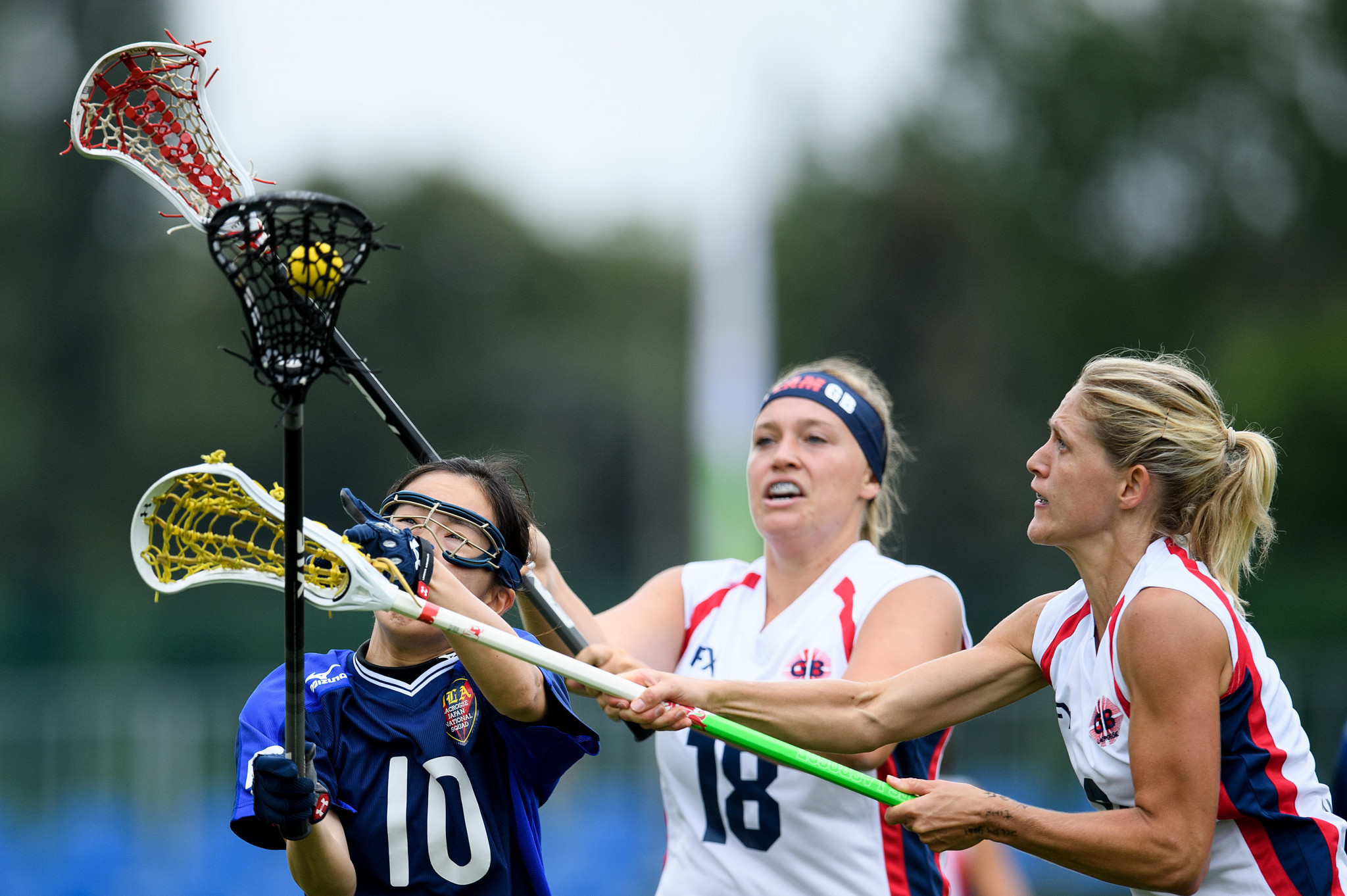 The ultimate aim of lacrosse is Olympic inclusion  ©Getty Images