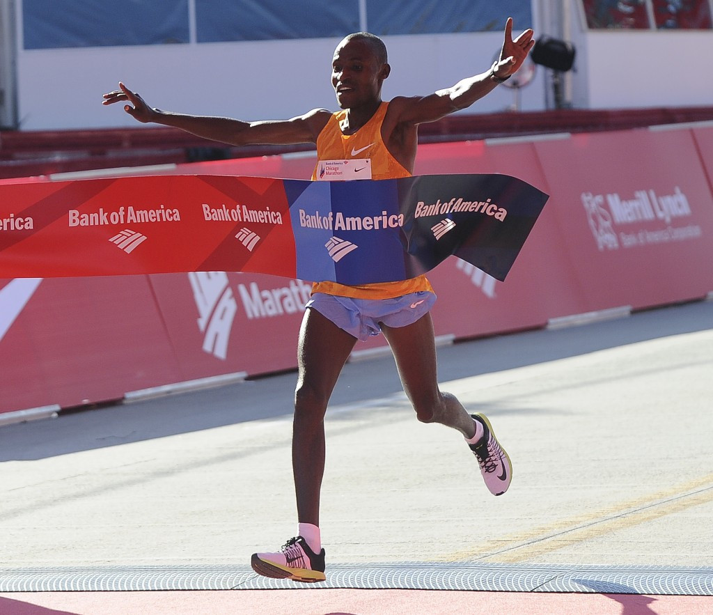 Kenyan double at Chicago Marathon as Chumba and Kiplagat claim victories