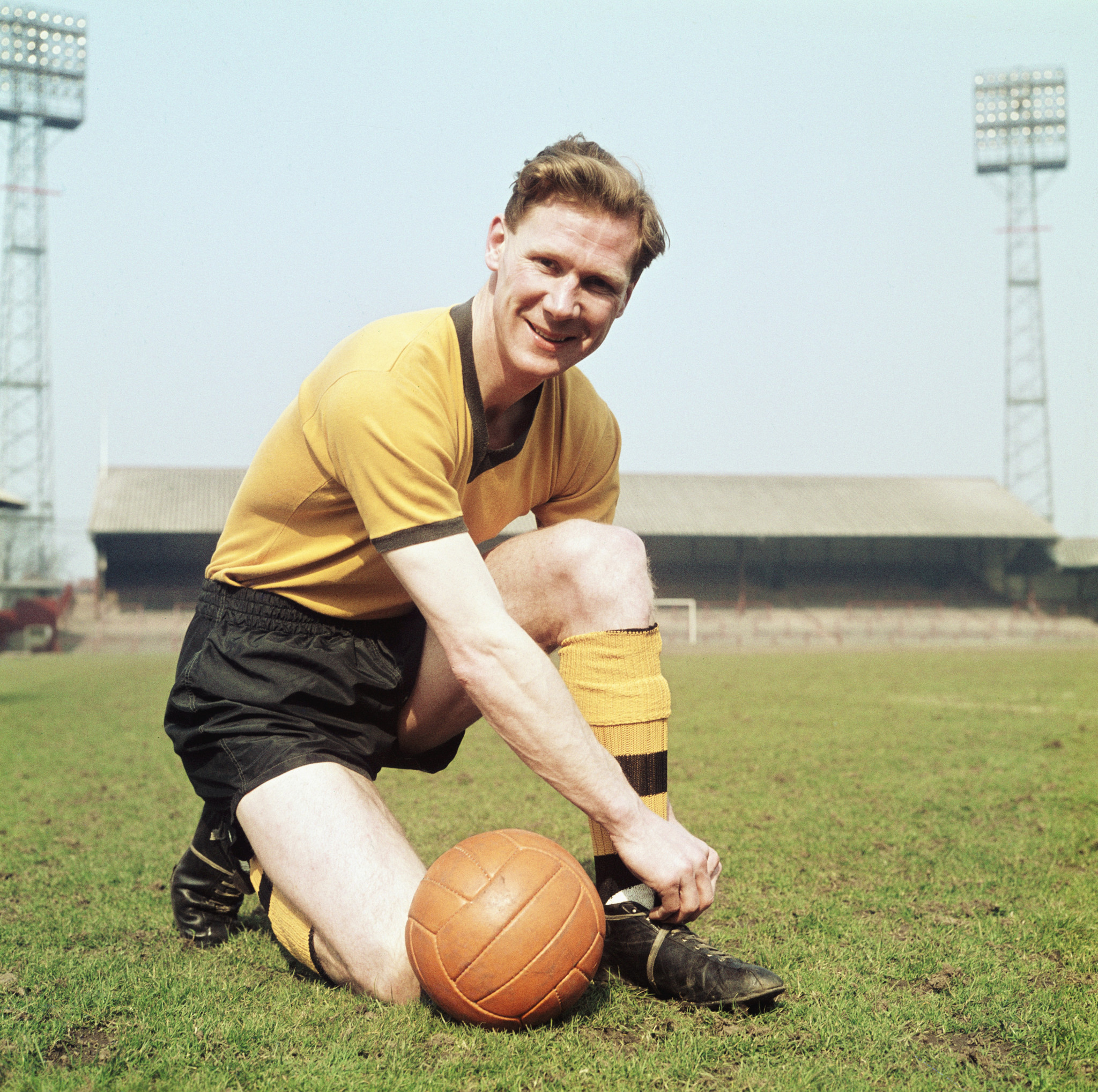 Former England and Wolves defender William Slater has died at the age of 91 ©Getty Images