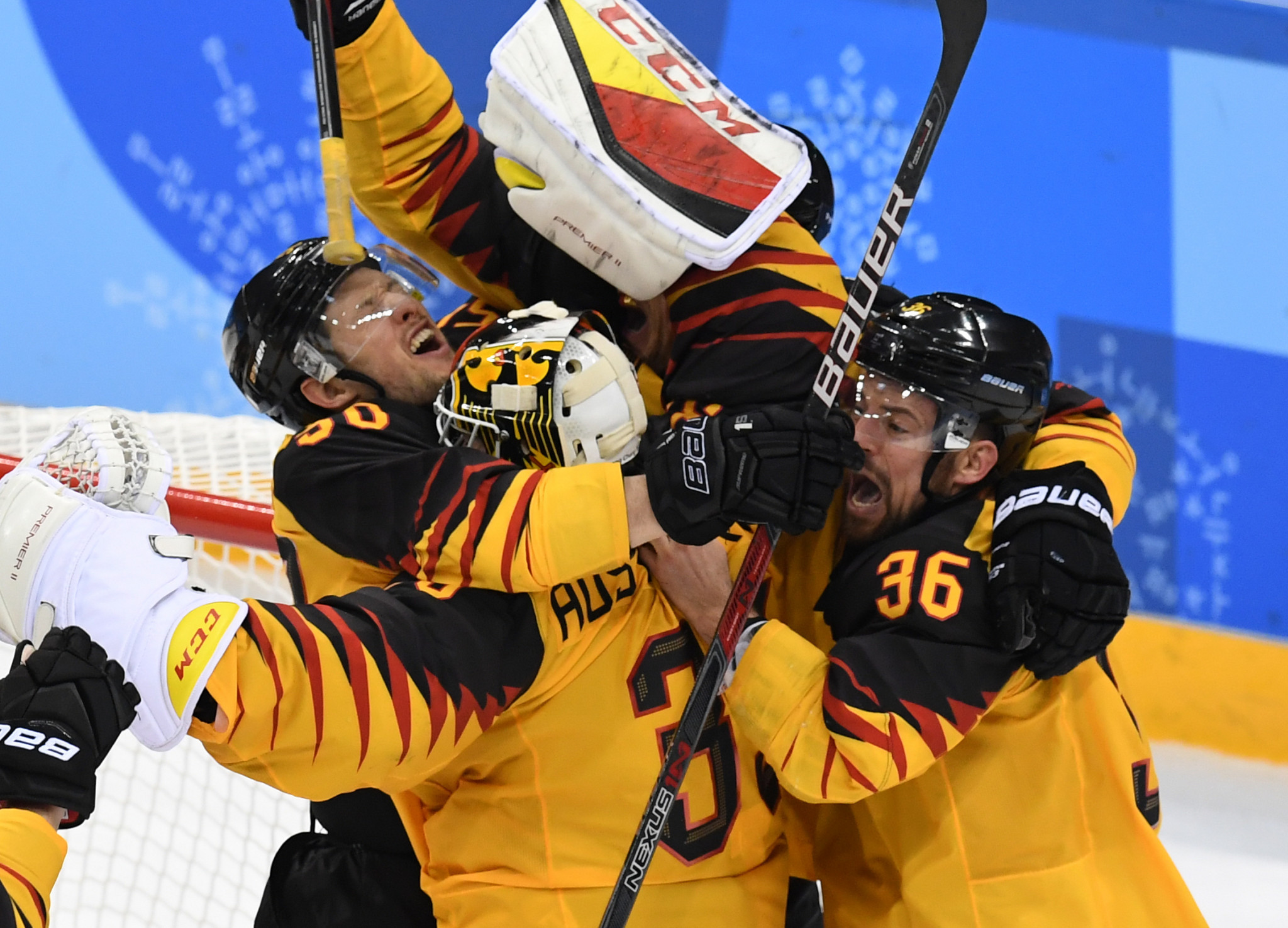 Germany won a shock silver medal at the Pyeongchang 2018 Winter Olympics ©Getty Images