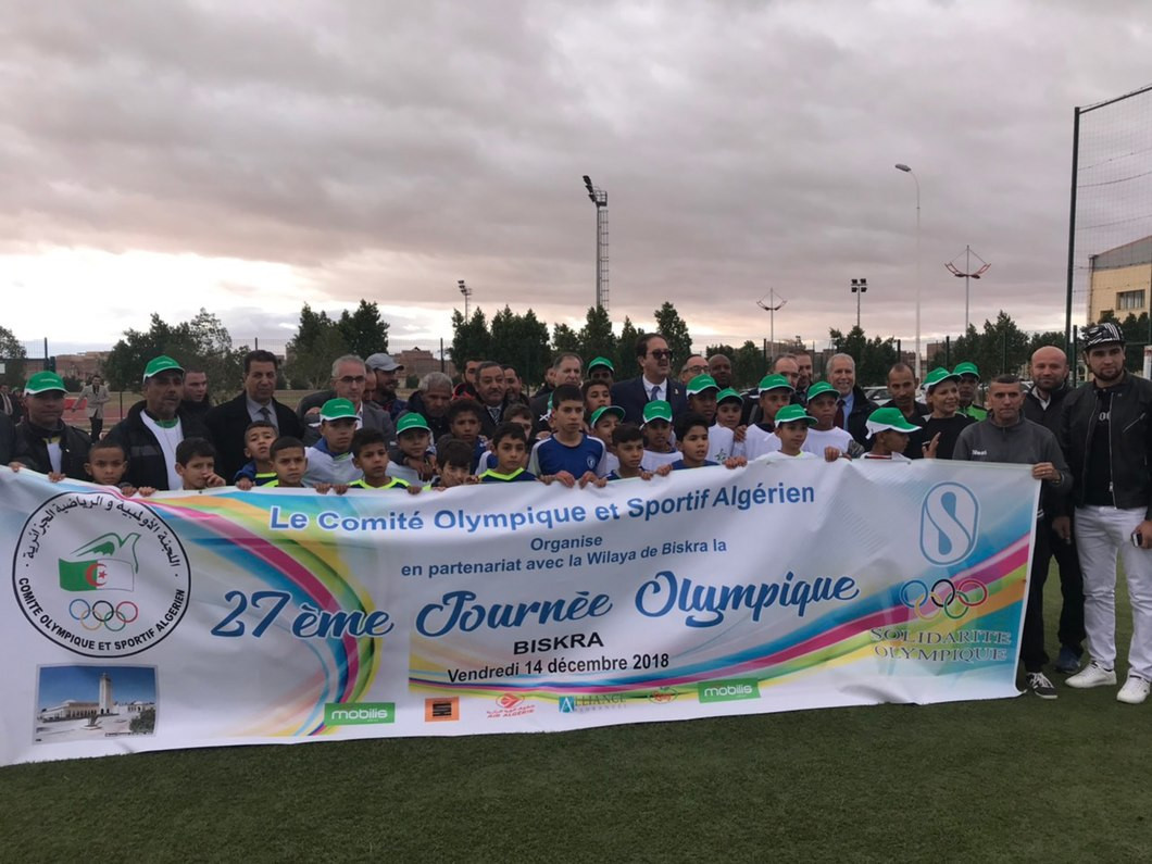 Algerian Olympic Committee organise Southern Olympic Day in Biskra