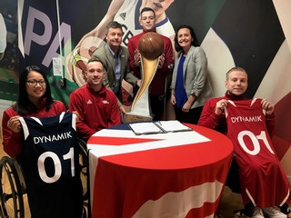 British Wheelchair Basketball and DYNAMIK announce five-year partnership