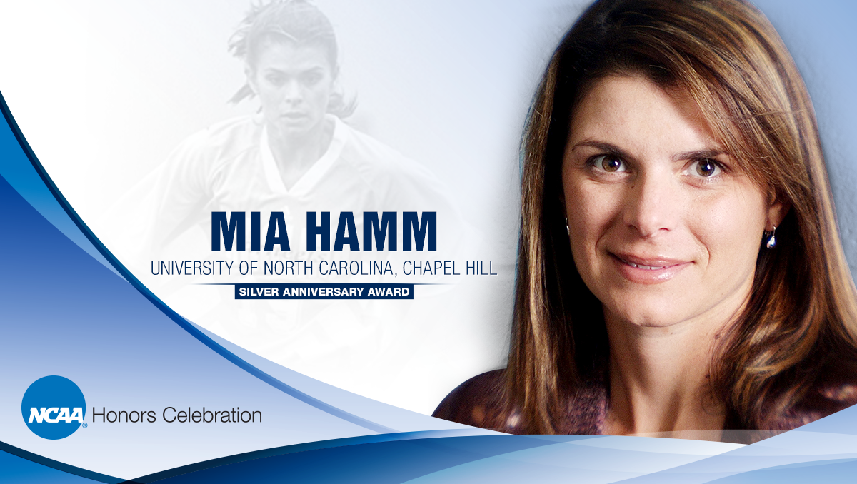 Hamm among six former student athletes to receive NCAA Silver Anniversary Award
