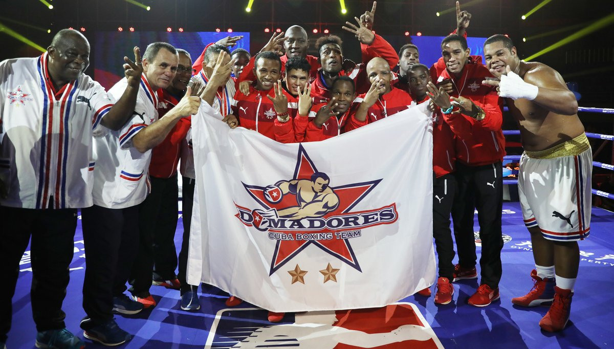 The most recent WSB season was won by Cuba Domadores ©WSB