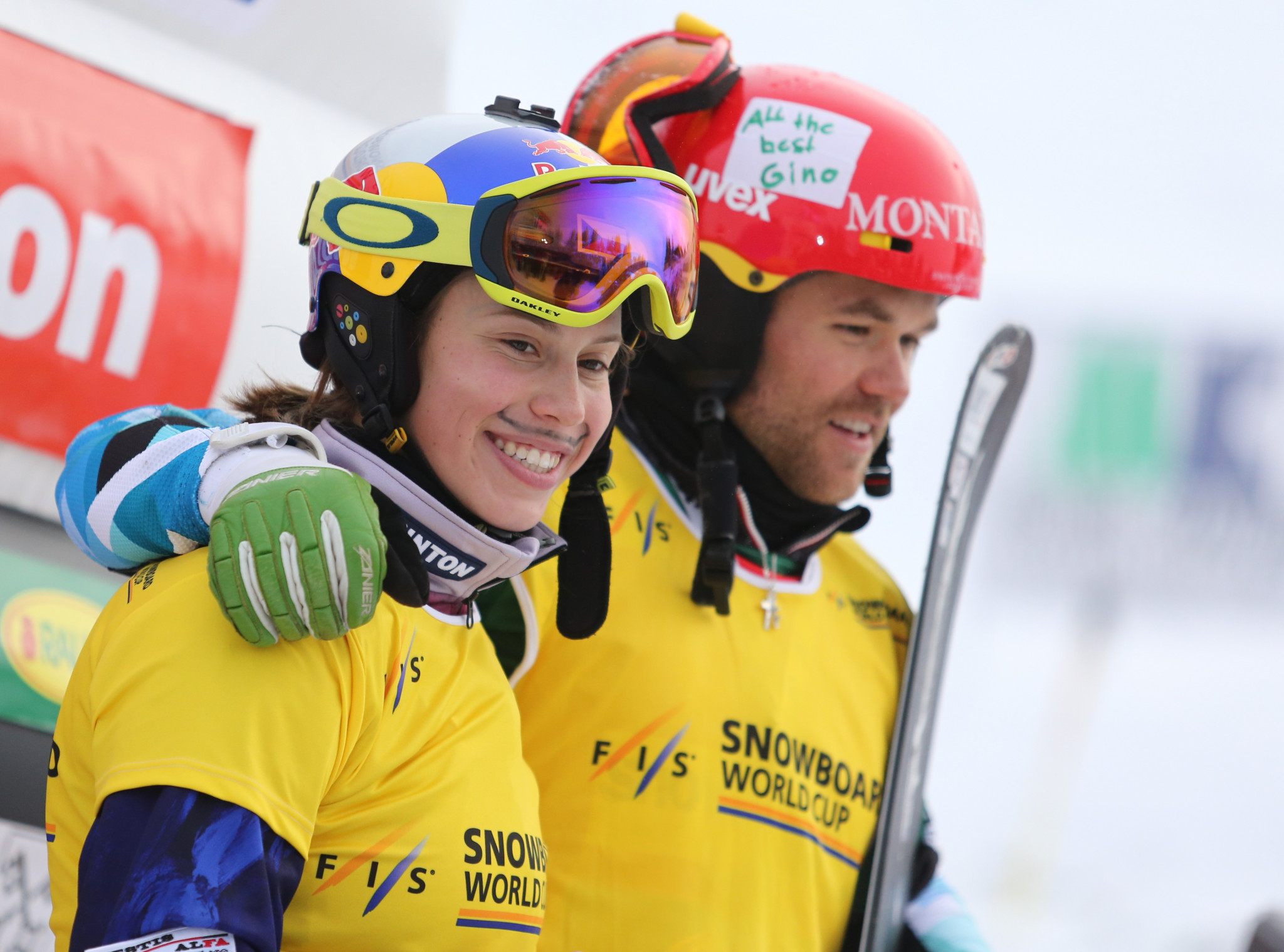 Samkova and Jacobellis swap places at FIS Snowboard Cross World Cup in Cervinia