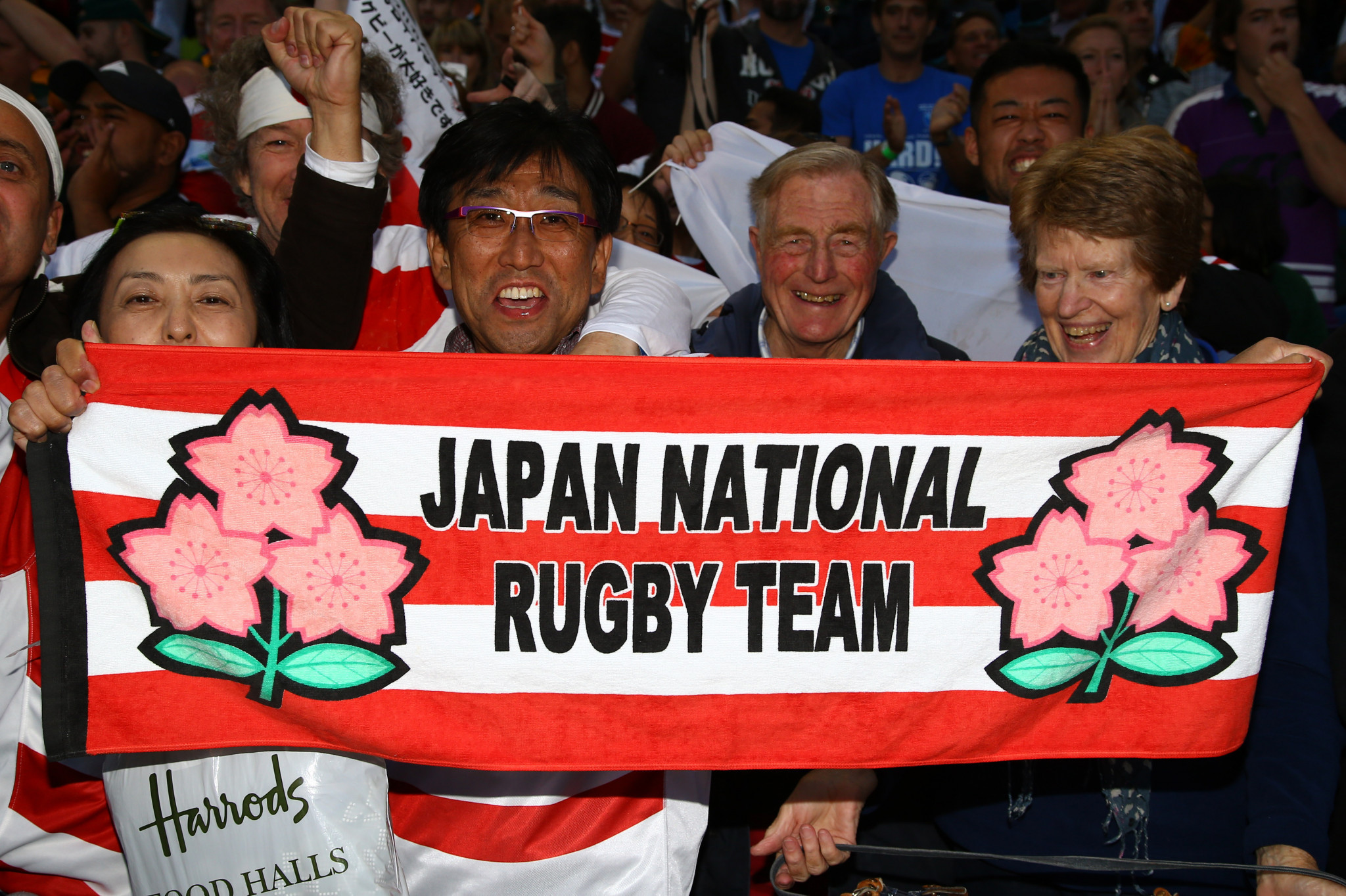 Japan will host the first Rugby World Cup to take place in Asia ©Getty Images