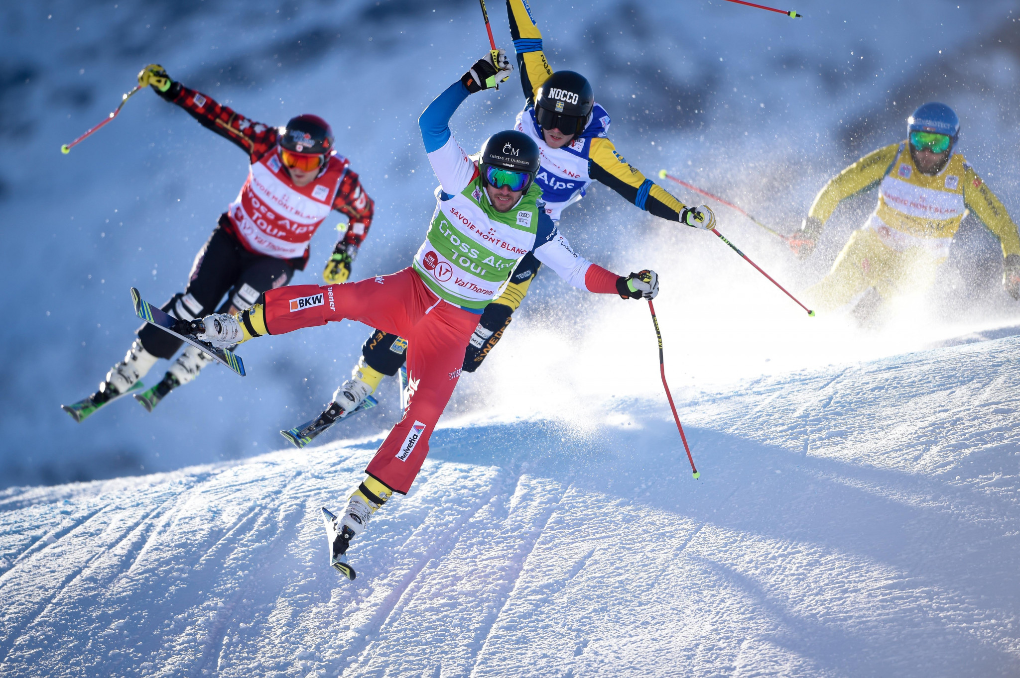Midol brothers make podium again at FIS Ski Cross World Cup in Innichen