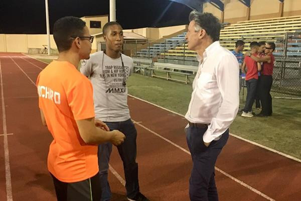 IAAF President Coe visits Aruba to celebrate National Federation's 55th anniversary