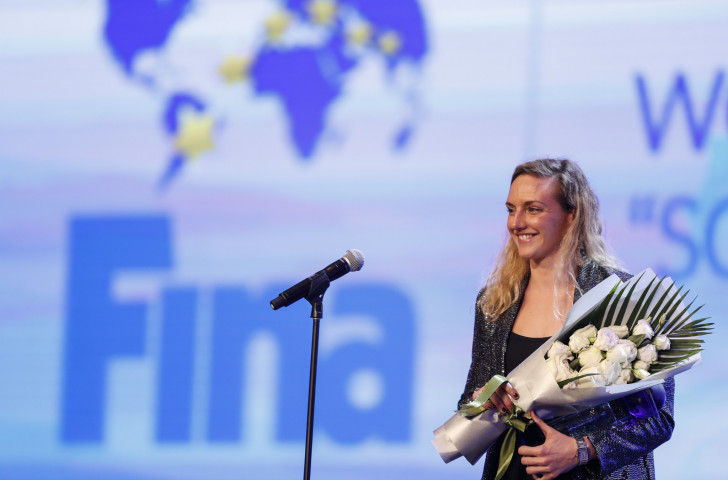 Hungary's triple Olympic champion Katinka Hosszú is leading efforts to force FINA to recognise the newly-emerged ISL event by taking out a lawsuit against them. Awkwardly she won FINA's award this month as female swimmer of the year...©Getty Images