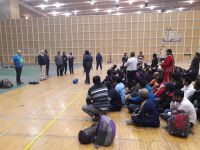 Goalball development workshop held in India