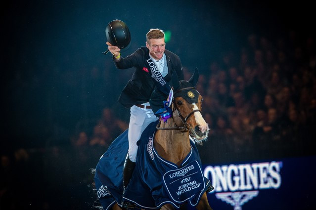 Whitaker claims home victory at FEI Jumping World Cup in London