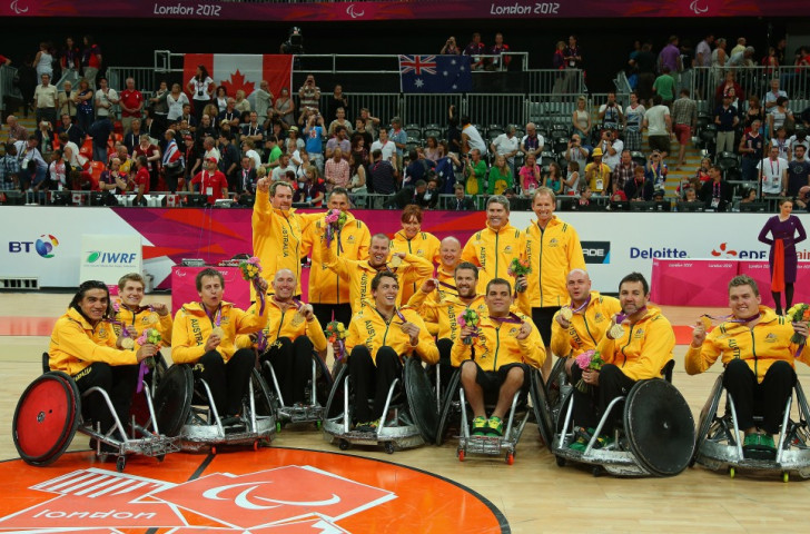 The World Wheelchair Rugby Challenge will be held in the Queen Elizabeth Olympic Park, where Australia captured the Paralympic title during London 2012