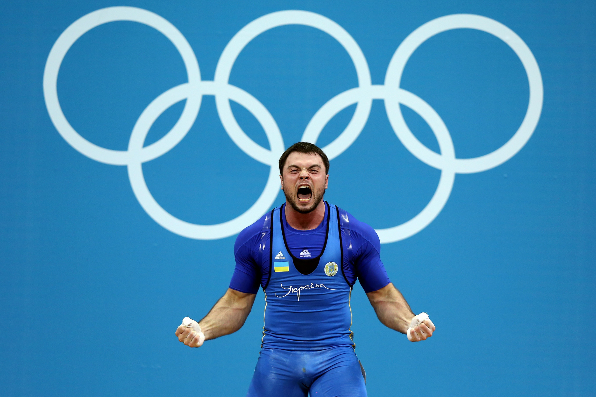 Five weightlifters including London 2012 Olympic champion Oleksiy Torokhtiy have been provisionally suspended ©Getty Images