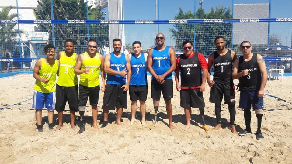 President Couzner has previously said Para beach volleyball is
