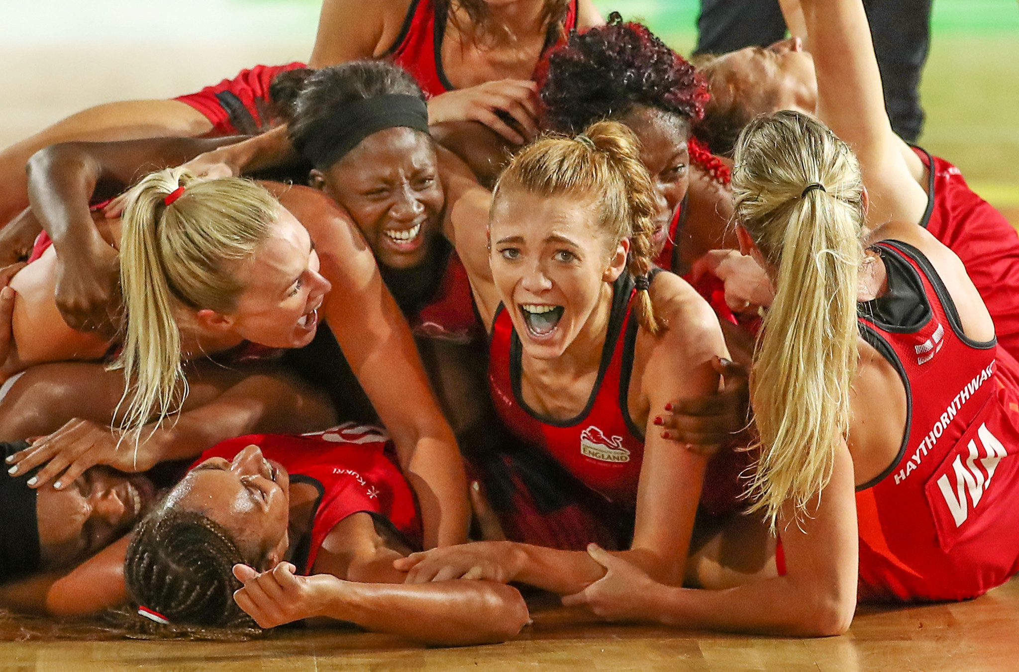 Molly Rhone congratulated England Netball on their historic Commonwealth Games win ©Getty Images