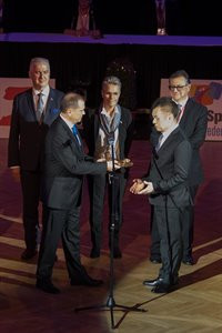 Tay officially takes over as World DanceSport Federation President
