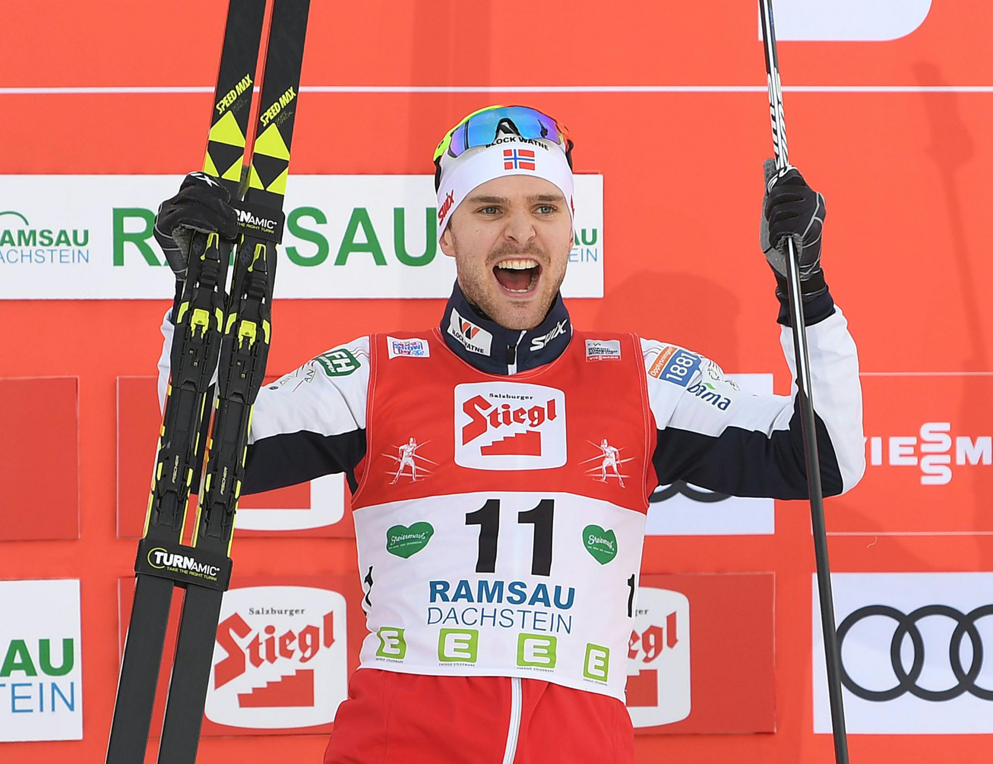 Graabak wins in Ramsau to continue Norwegian dominance of Nordic Combined World Cup