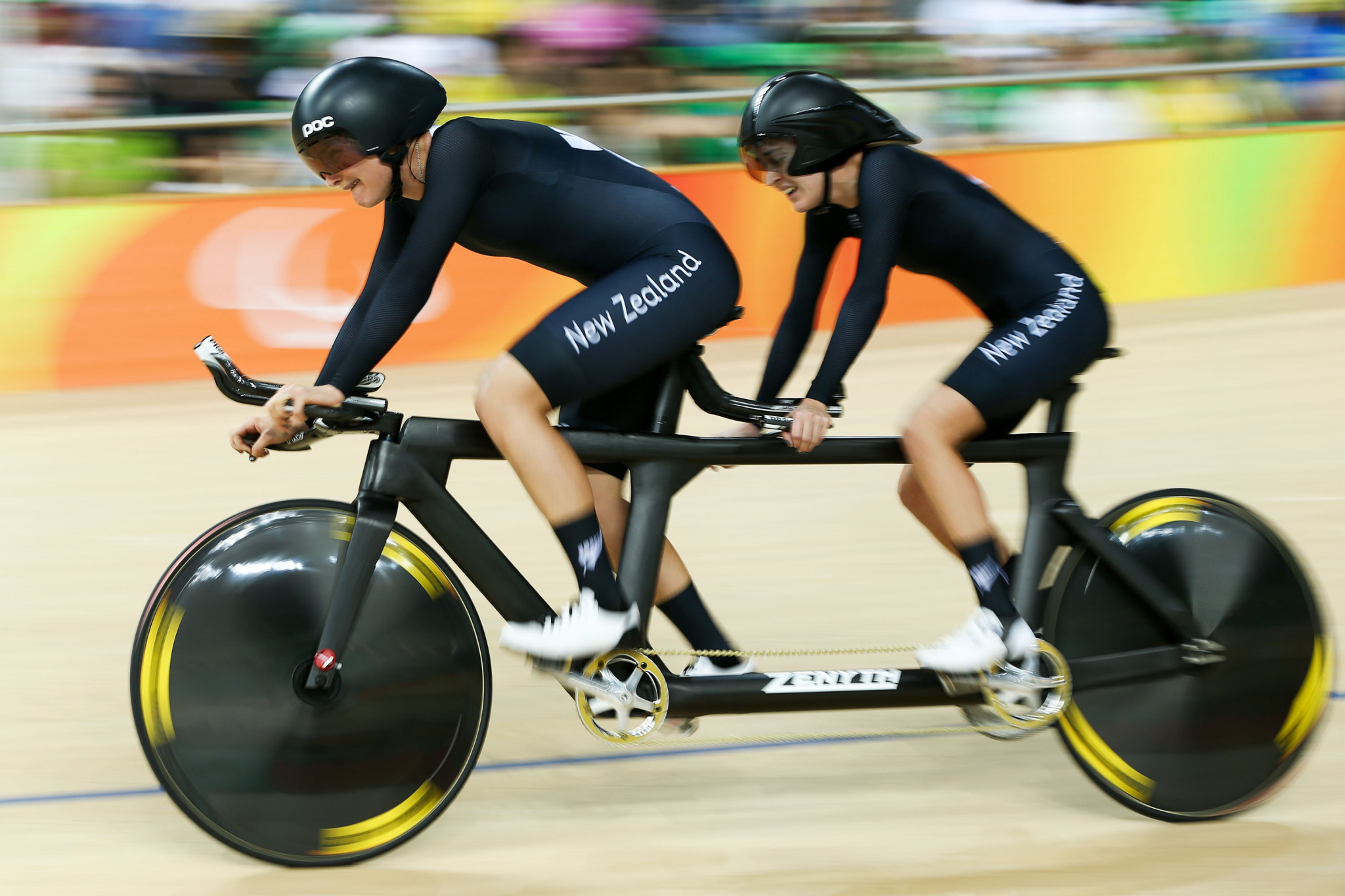 Amanda Cameron and Hannah van Kampen will compete for New Zealand at the 2019 UCI Para Cycling Track World Championships ©Getty Images