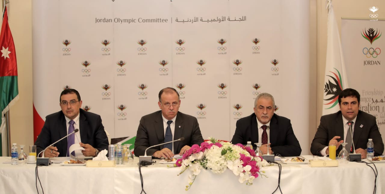 Jordan Olympic Committee confident for upcoming year after successful 2018