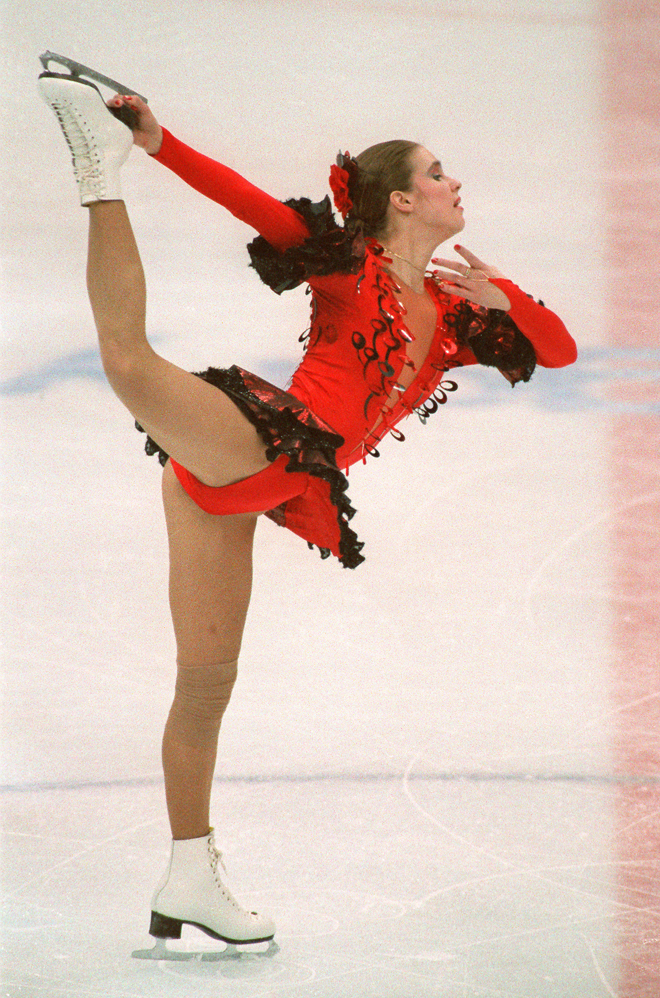 The change in the rules ahead of the 1994 Lillehammer Winter Games allowed the return of professional former Olympic skaters such as Germany's Katarina Witt - but not everyone in the sport was happy about it ©Getty Images