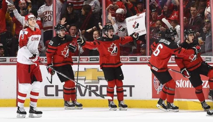 Canada begin title defence with demolition of Denmark at IIHF World Junior Championships