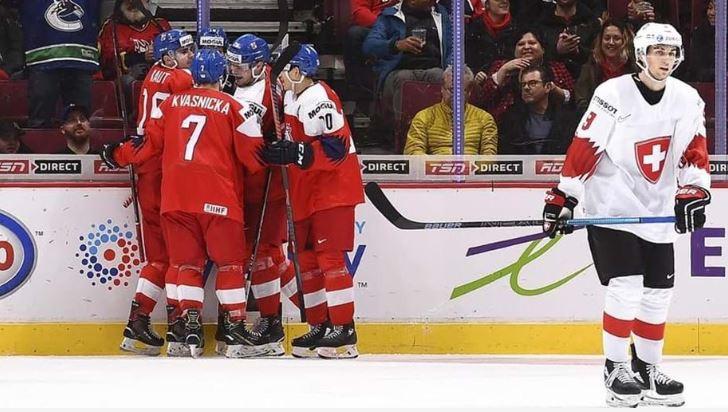 An overtime goal helped The Czech Republic beat Switzerland ©IIHF