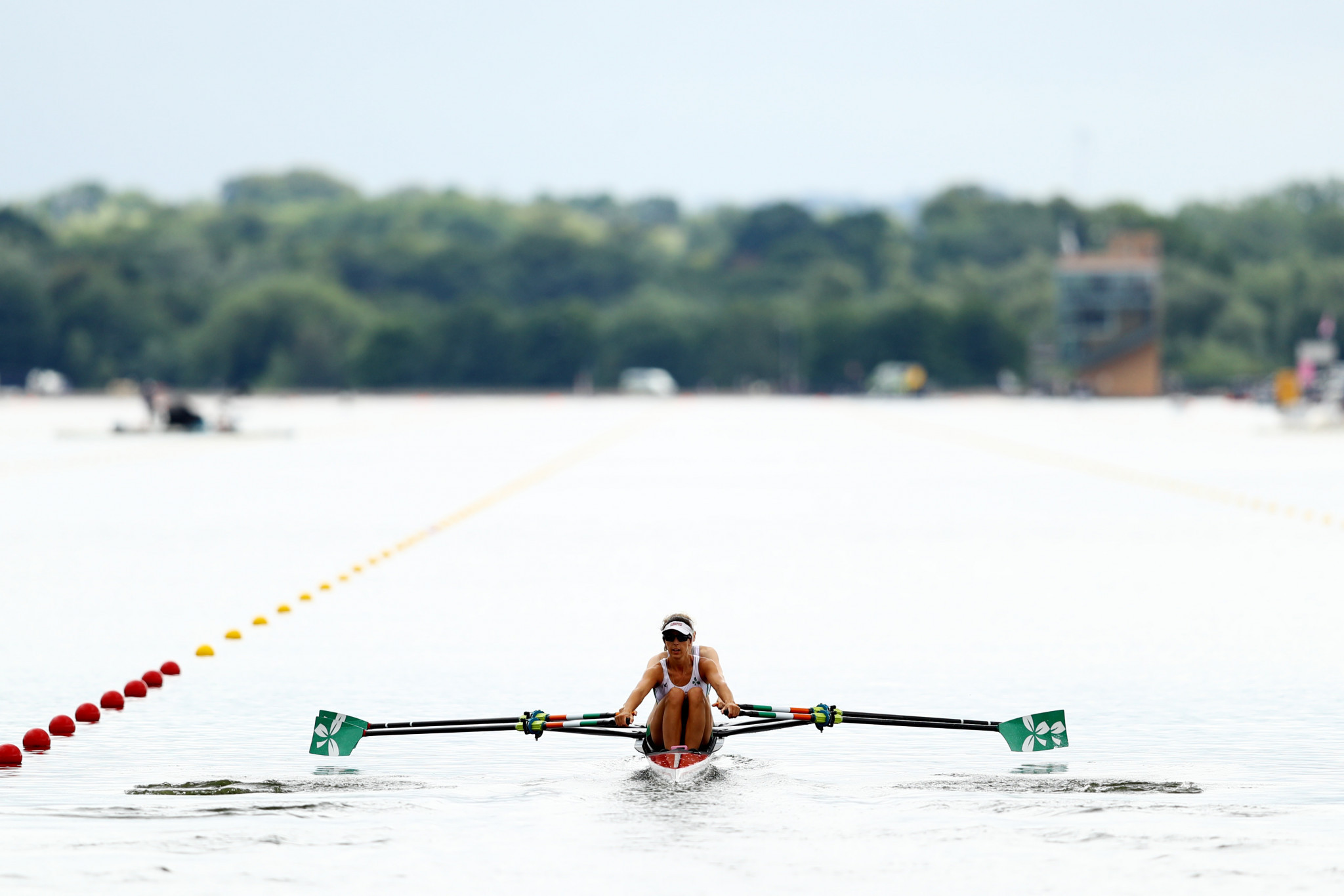 The Championships began with rowing action on day one ©Getty Images