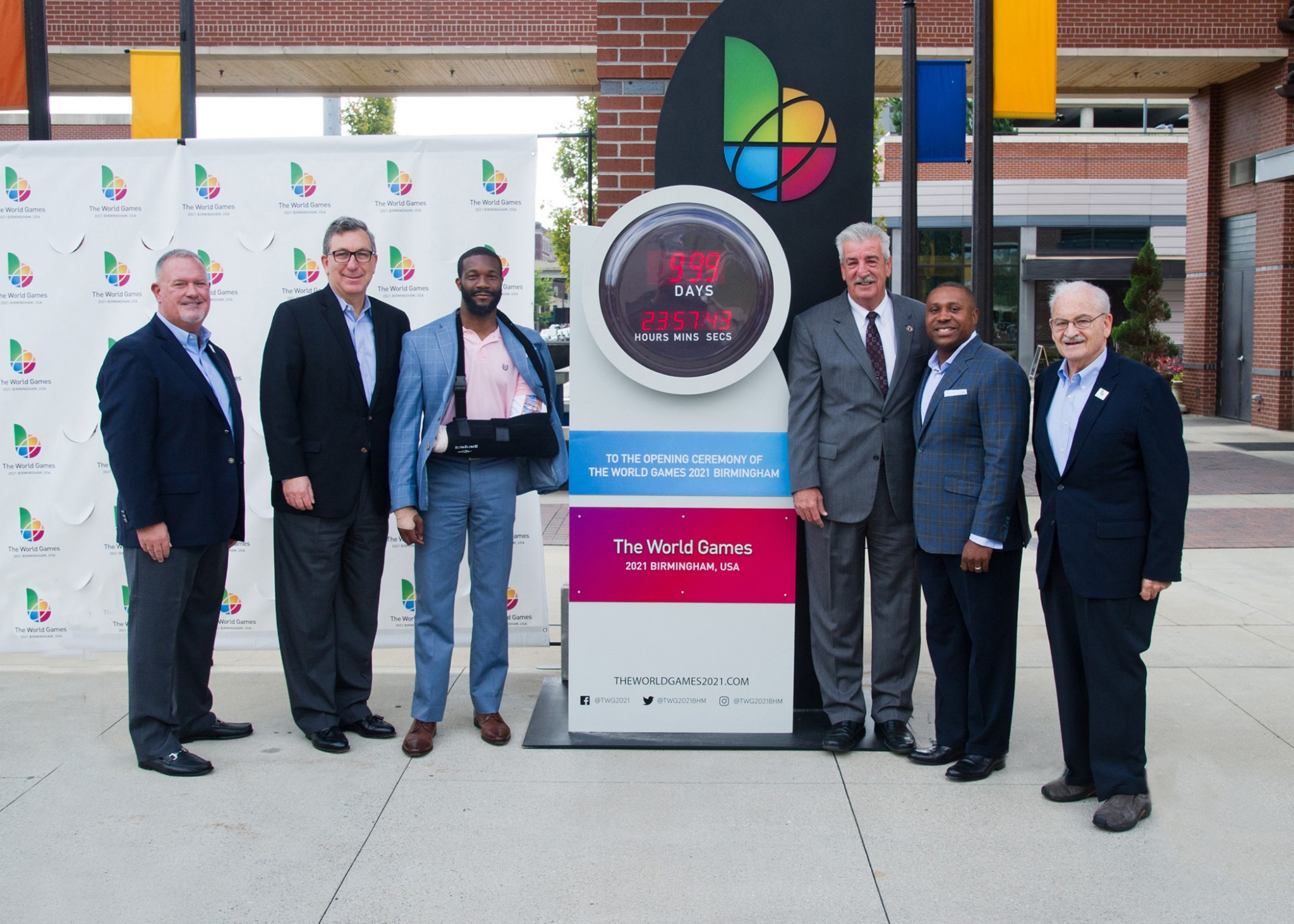The first official countdown clock for the 2021 World Games has also been unveiled ©IWGA
