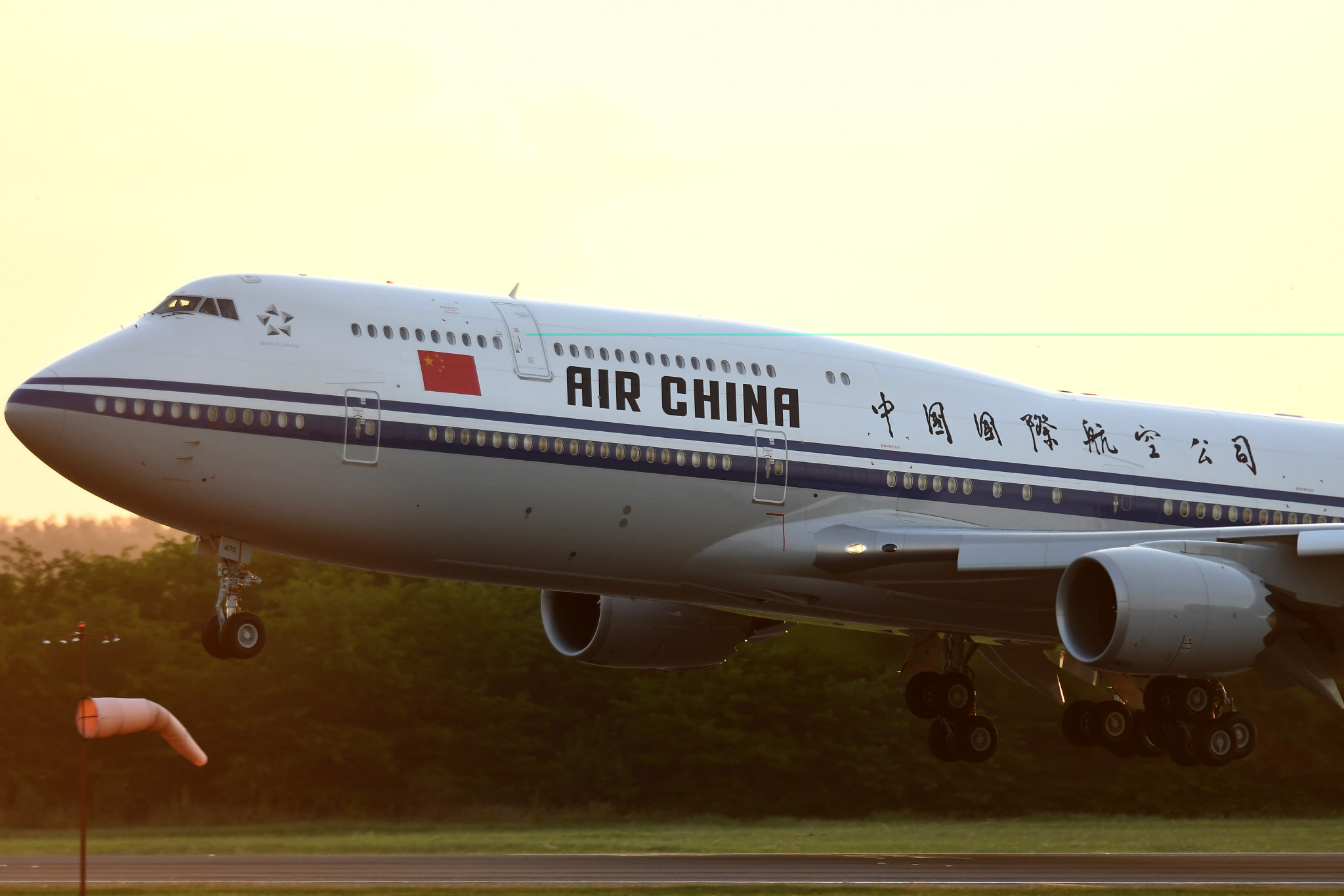 Air China is another firm to have already been named as an official sponsor ©Getty Images