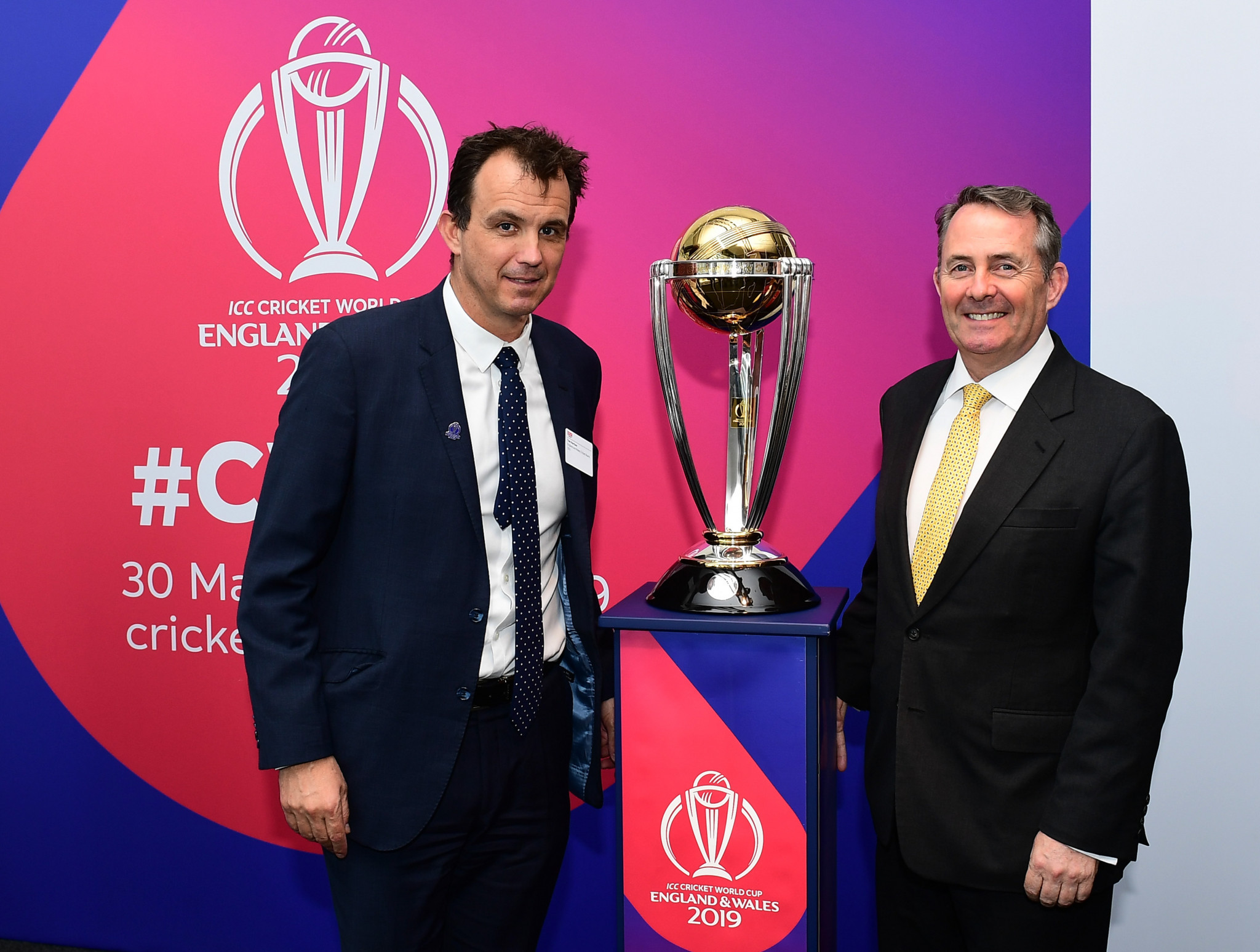 "ECB chief executive Tom Harrison has claimed hosting next year's Cricket World Cup provides a ""once in a lifetime"" opportunity to grow the game ©Getty Images"
