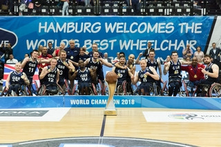 Men's wheelchair basketball world champions Britain aiming for Tokyo 2020 qualification in 2019