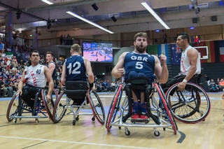Great Britain's men's wheelchair basketball team are hoping to qualify for Tokyo 2020 Paralympics after their recent success ©British Wheelchair Basketball